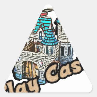 Play Castle Triangle Sticker