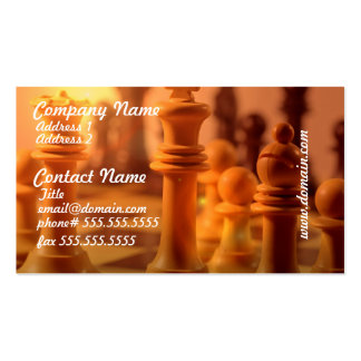Play Chess Business Cards