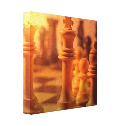 Play Chess Canvas Print