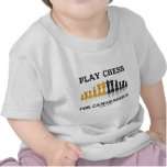 Play Chess For Camaraderie (Reflective Chess Set) Tshirt