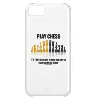 Play Chess It's The Only Game Where Pawn To Queen iPhone 5C Cover