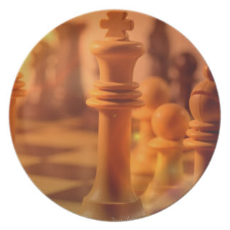 Play Chess Plate