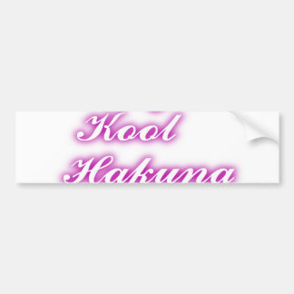 Play Cool Customize Product Bumper Sticker