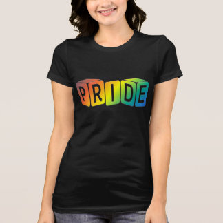 play cubes Rainbow design Pride Shirts