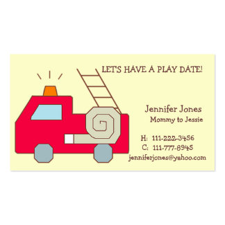 Play Date Calling Card Business Cards