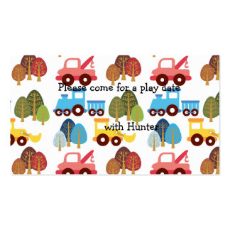 Play Date Cards Business Card