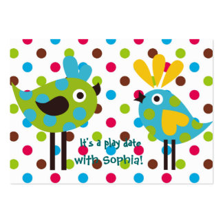 play date cards (personalized) business card templates