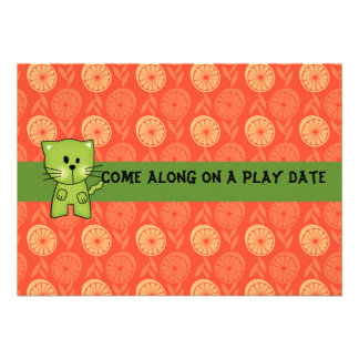 Play Date Invitations