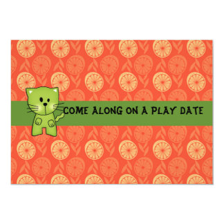 "Play Date Invitations 5"" X 7"" Invitation Card"