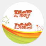 Play Date Sticker