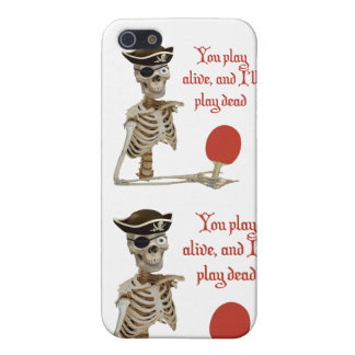 Play Dead Pirate Ping Pong Case For iPhone SE/5/5s
