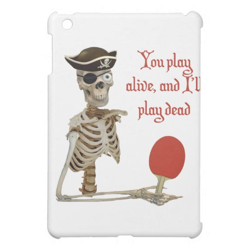 Play Dead Pirate Ping Pong iPad Mini Cover