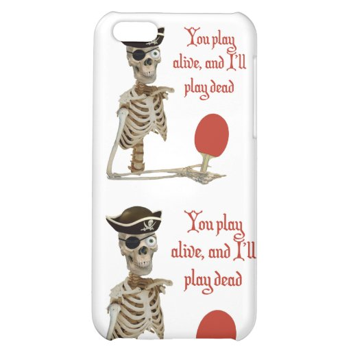 Play Dead Pirate Ping Pong iPhone 5C Case