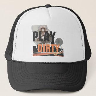 Play Dirty Robert Elam Rhythmatik Design Trucker Hat