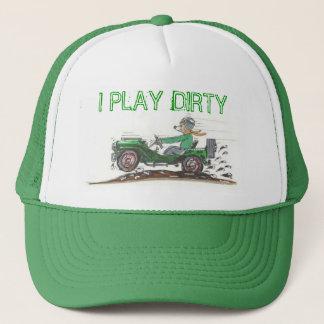 PLAY DIRTY TRUCKER HAT
