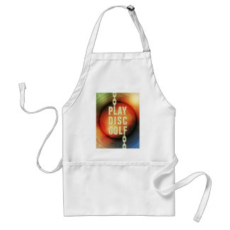 Play Disc Golf Adult Apron