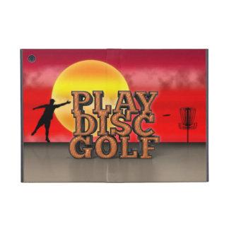 Play Disc Golf iPad Mini Cover