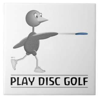 Play Disc Golf Large Square Tile
