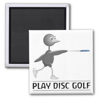 Play Disc Golf Magnet