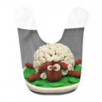 Play Dough My Sheep Bib