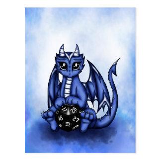Play Dragon Postcard