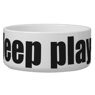 Play Eat Poop Sleep 1 Bowl