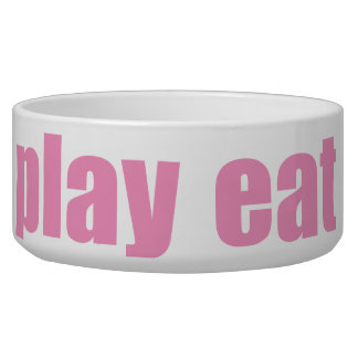 Play Eat Poop Sleep 2 Bowl