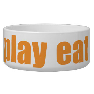 Play Eat Poop Sleep 5 Bowl