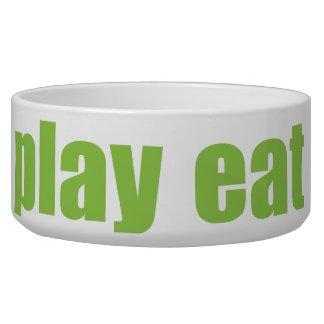 Play Eat Poop Sleep 6 Bowl