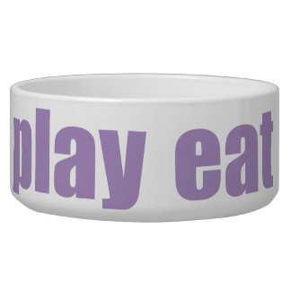 Play Eat Poop Sleep 7 Bowl