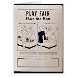 Play Fair Card