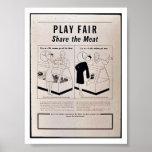 Play Fair Poster