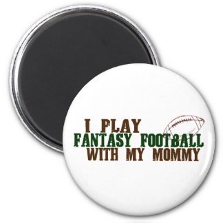 Play fantasy footbal with mommy magnet