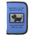 play fetch scotty dog planner/organizer