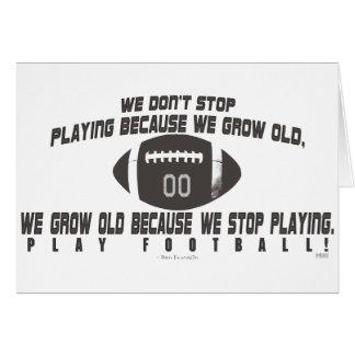Play Football Card