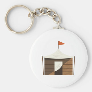 Play Fort Basic Round Button Keychain