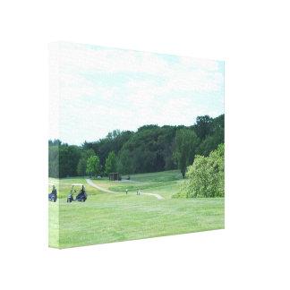 Play Golf Canvas Print