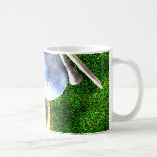 Play Golf Grunge Style Coffee Mug
