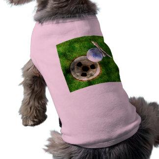 Play Golf Grunge Style Dog Clothing