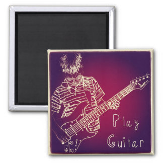 Play Guitar Magnet