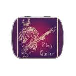 Play Guitar Pick Tin Candy Tins