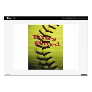 Play Har Softball Laptop Decals