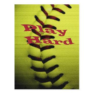 Play Har Softball Postcard