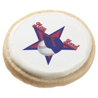 Play Hard, Baseball-Shorbread Cookies