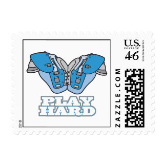 play hard football postage stamps