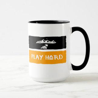 Play Hard Mountain Mug