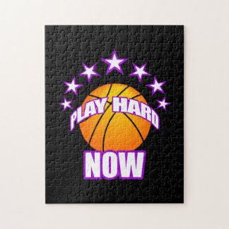 Play Hard Now - Basketball puzzle