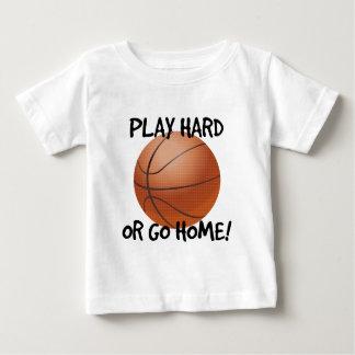 Play Hard or Go Home Basketball T Shirt