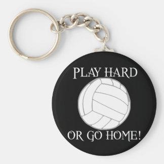 Play Hard or Go Home! Keychain