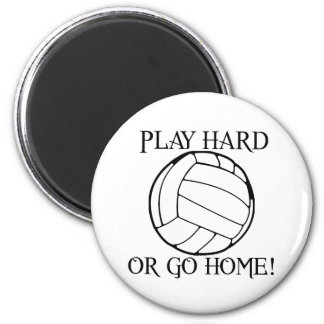 Play Hard or Go Home! Refrigerator Magnets